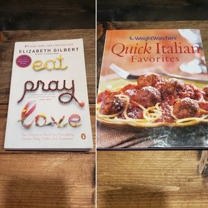 Other - Lot of 2 Eat Pray Love Quick Italian Favs Cookbook